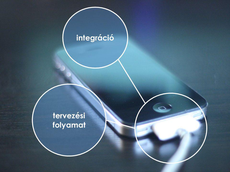 integráció tervezési folyamat
