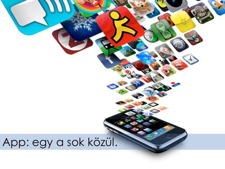 App: egy a sok közül.