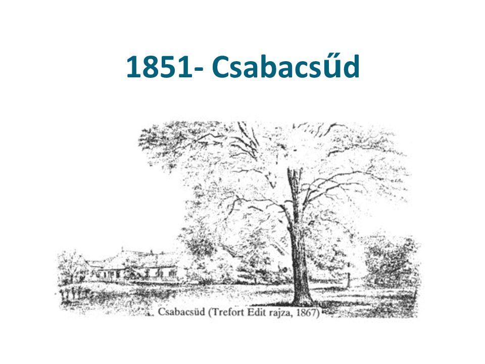 1851- Csabacs ű d Csabacsüd