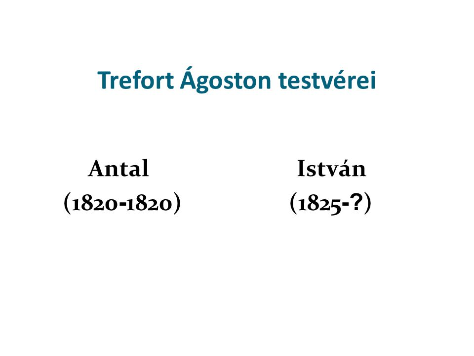 Trefort Ágoston, a nemzeti műveltség nagy építőmestere, élete és munkássága követendő példa.