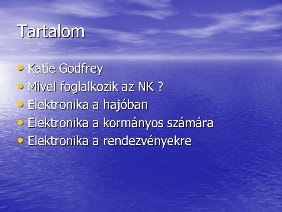Tartalom • Katie Godfrey • Mivel foglalkozik az NK .