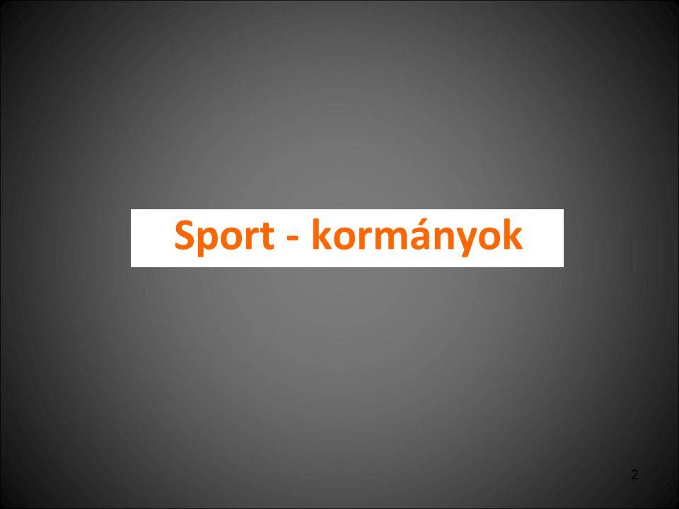 2 Sport - kormányok