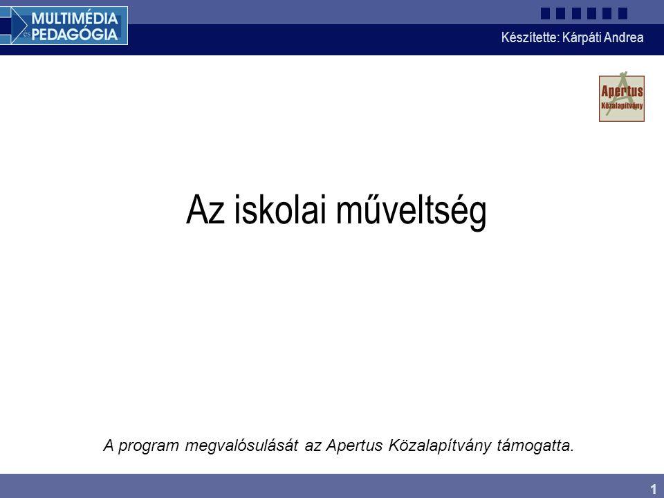 Készítette: Kárpáti Andrea 12 A magyar tanulók eredményei •A magyar tanulók eredményei – a hajdani élvonalbeli teljesítményekkel ellentétben – mindhárom területen a nemzetközi átlag alatt maradnak •A résztvevő 32 ország rangsorában az olvasás tekintetében a 21-26 •A matematikai műveltség szerint a 20-23., •A természettudományos műveltség eredményei alapján pedig a 13-21.
