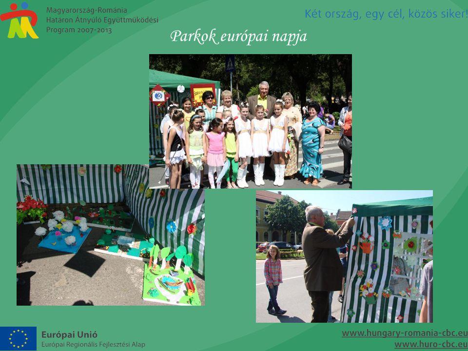 Parkok európai napja