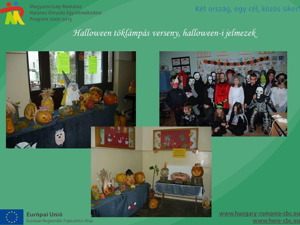 Halloween töklámpás verseny, halloween-i jelmezek