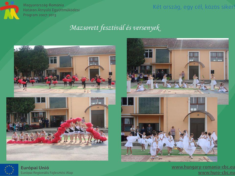 Mazsorett fesztivál és versenyek