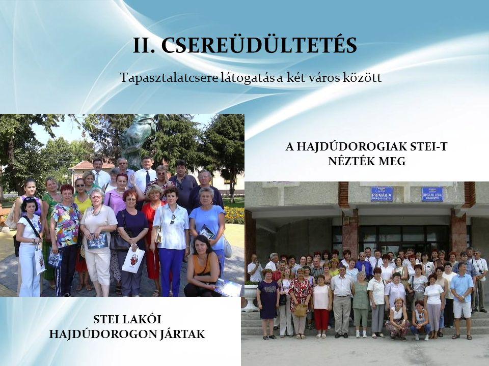 EGYÜTTMŰKÖDÉS A KÉT VÁROS KÖZÖTT 2012-BEN •Delegációk fogadása Stei-en és Hajdúdorogon •Kulturális, szórakoztató programokon való részvétel •Adventi gyertyagyújtás 2.
