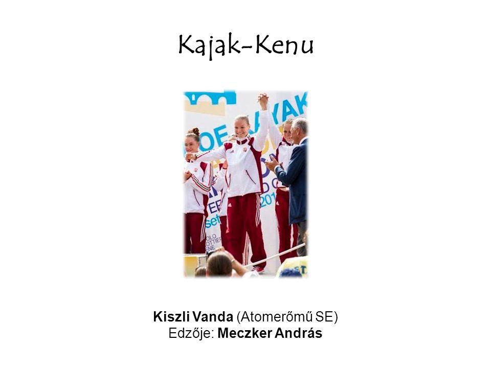 Kajak-Kenu Boros Gergely (Atomerőmű SE) Edzője: Hűvös Viktor