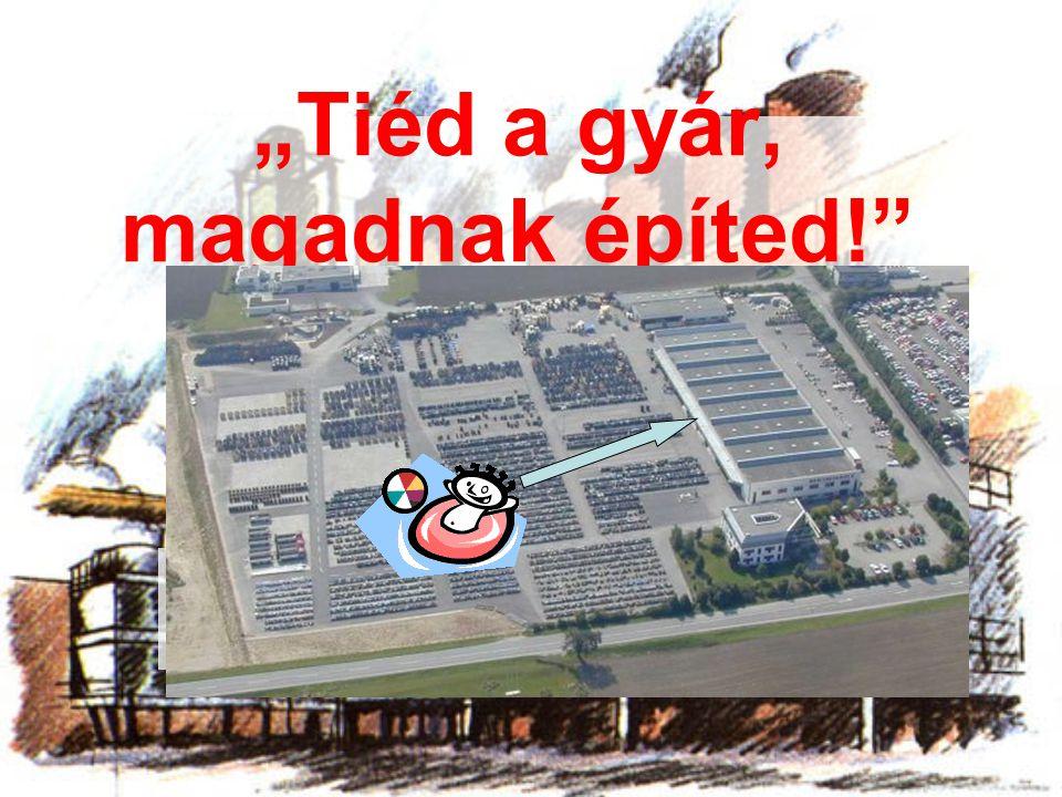 """""""Tiéd a gyár, magadnak építed!"""" A legvidámabb barakk"""