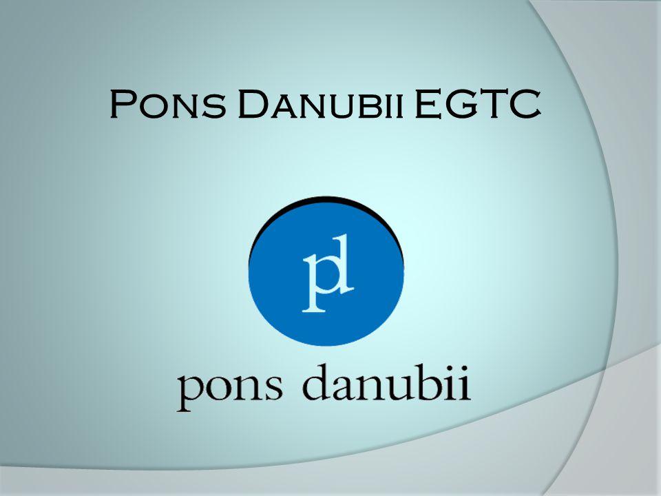 Rövidítés jelentése: Pons Danubii Korlátolt Felel ő sség ű Európai Területi Együttm ű ködési Csoportosulás