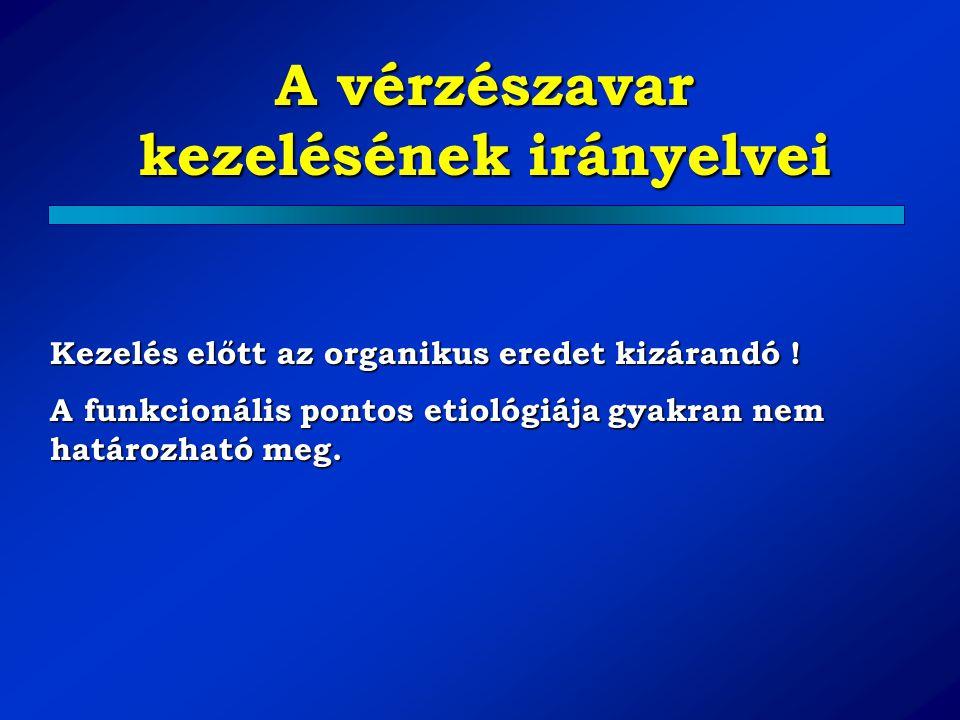 Amenorrhoea Fiziológiás:praepubertas graviditás lactatio postmenopausa Kóros – etiológiai tényező: 1.