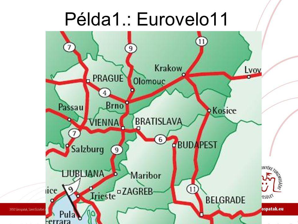 Példa1.: Eurovelo11