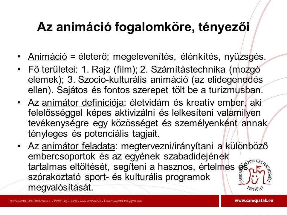 RENDEZVÉNYTÍPUSOK 3.