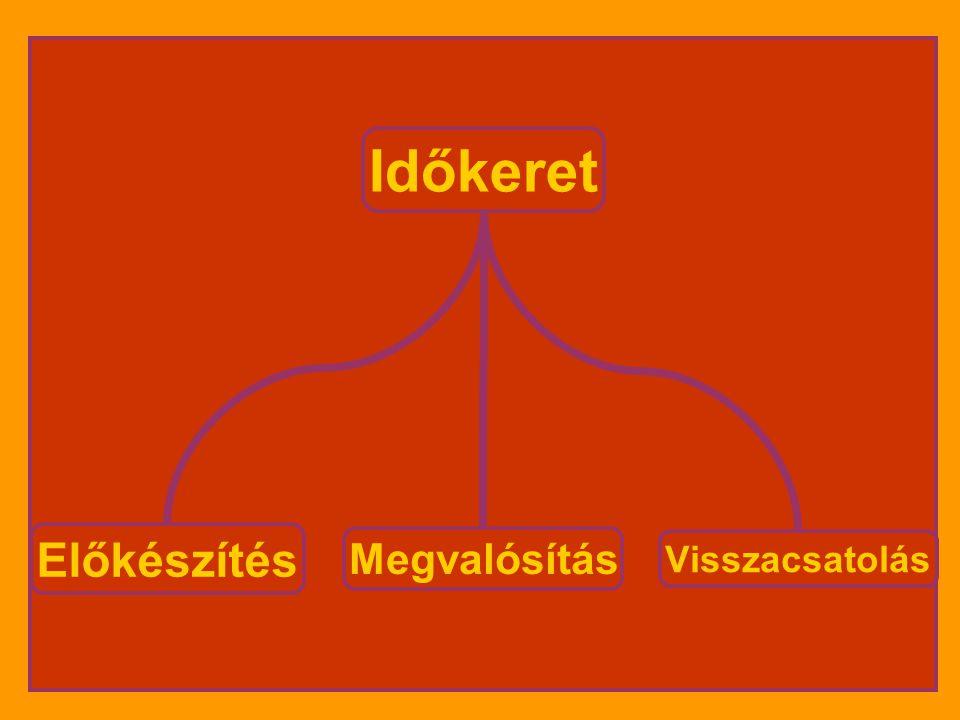 Egységes irányítás Felelősök: •- iskolavezetés: anyagi források, legalitás, ellenőrzés •- projektvezetők: előkészítés, megvalósítás, ellenőrzés •- partnerek: szállásadók, szponzorok, szülők, gyerekek