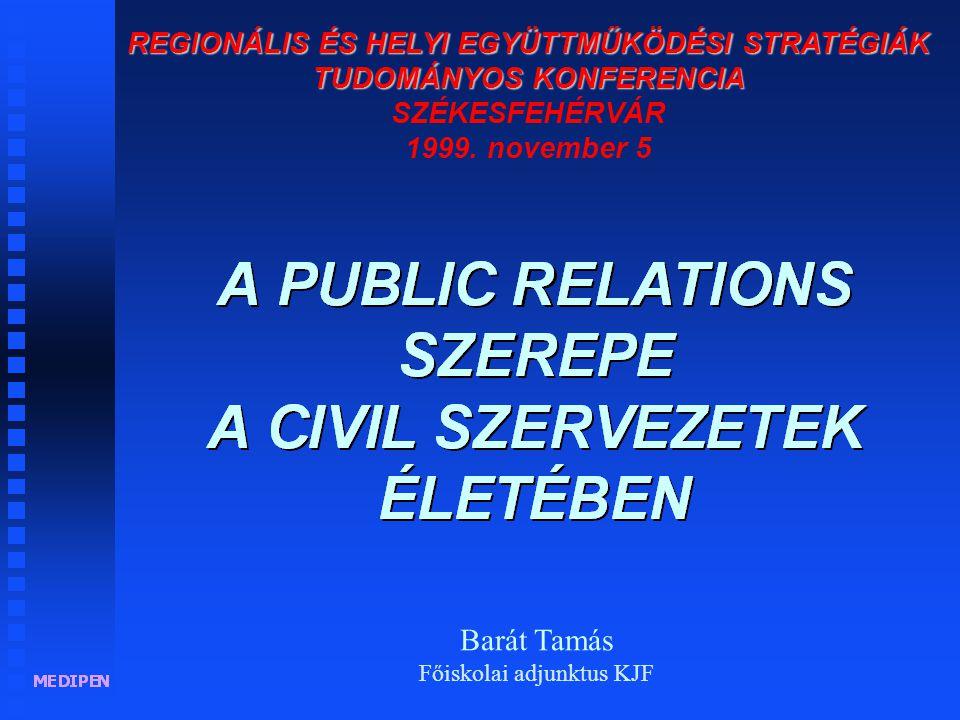 """""""A Public Relations híd a kölcsönös megértéshez. Sam Black"""