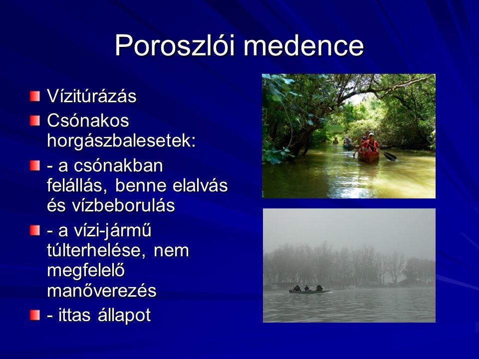 Tiszavalki medence Belsőégésű csónakmotorok használatának tilalma Nagy hangsúlyt kap a csónakok kötelező tartozékainak megléte