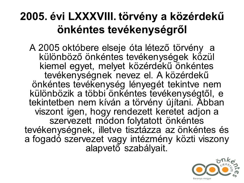 2005.évi LXXXVIII.