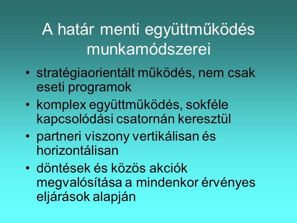 A DKMT intézményrendszere 6.DKMT Eurorégiós Fejlesztési Ügynökség Kht.