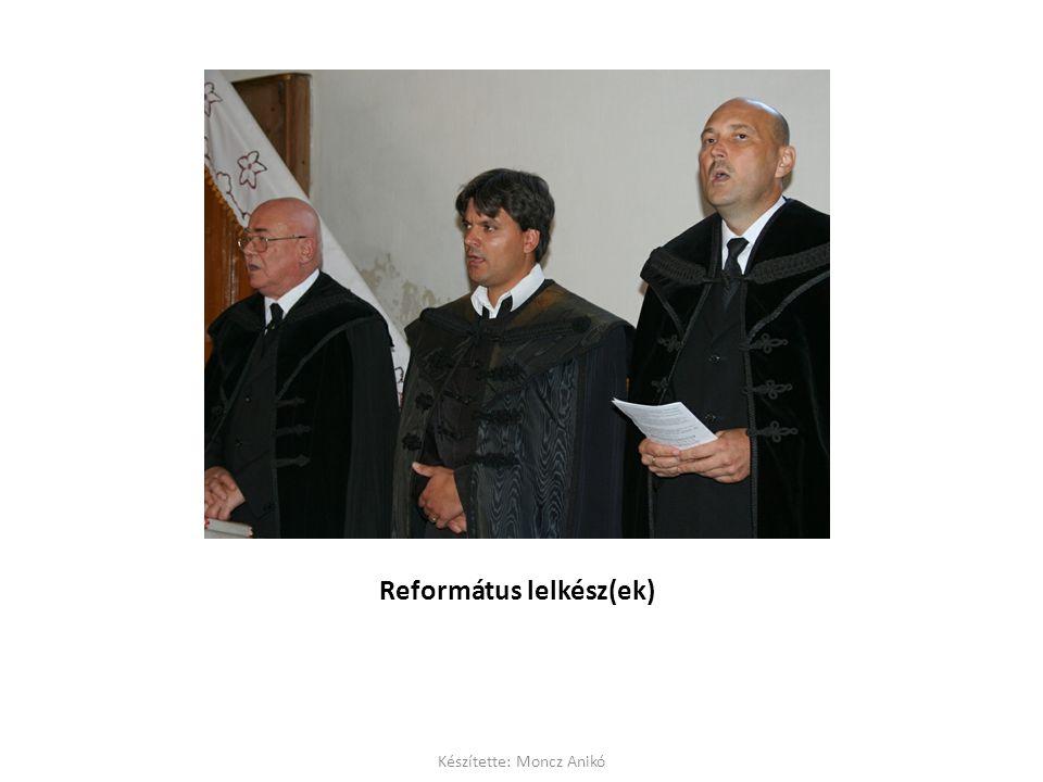 Református lelkész(ek) Készítette: Moncz Anikó
