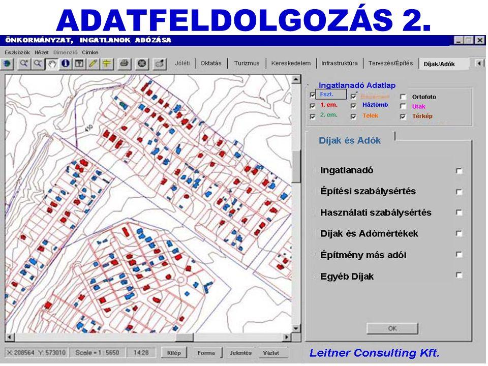 Leitner József + Borsi László14 ADATFELDOLGOZÁS 2.
