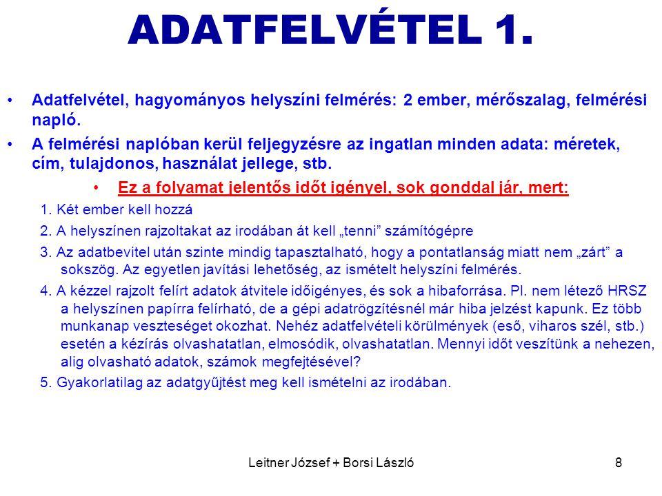 Leitner József + Borsi László8 ADATFELVÉTEL 1.