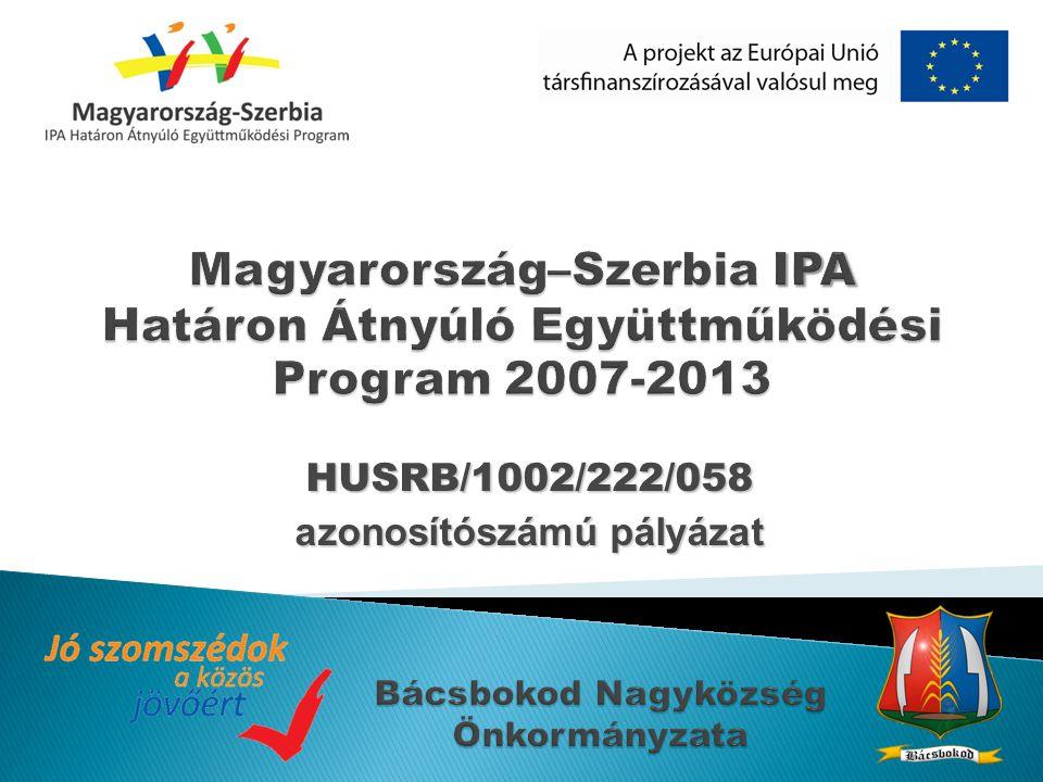 HUSRB/1002/222/058 azonosítószámú pályázat
