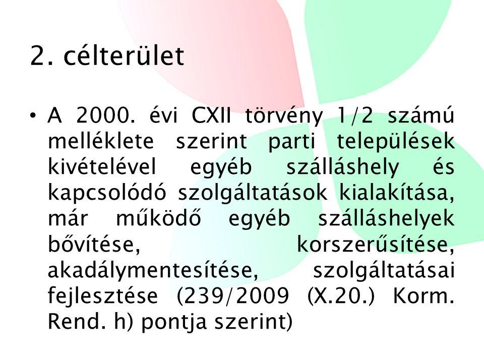 2. célterület • A 2000.