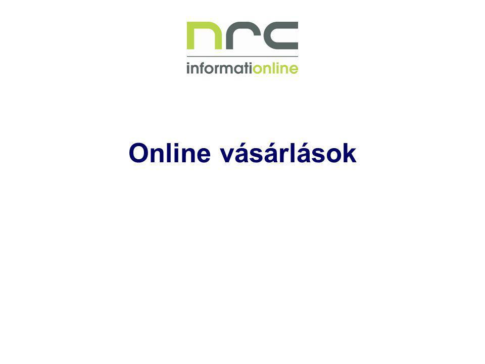 Online vásárlások