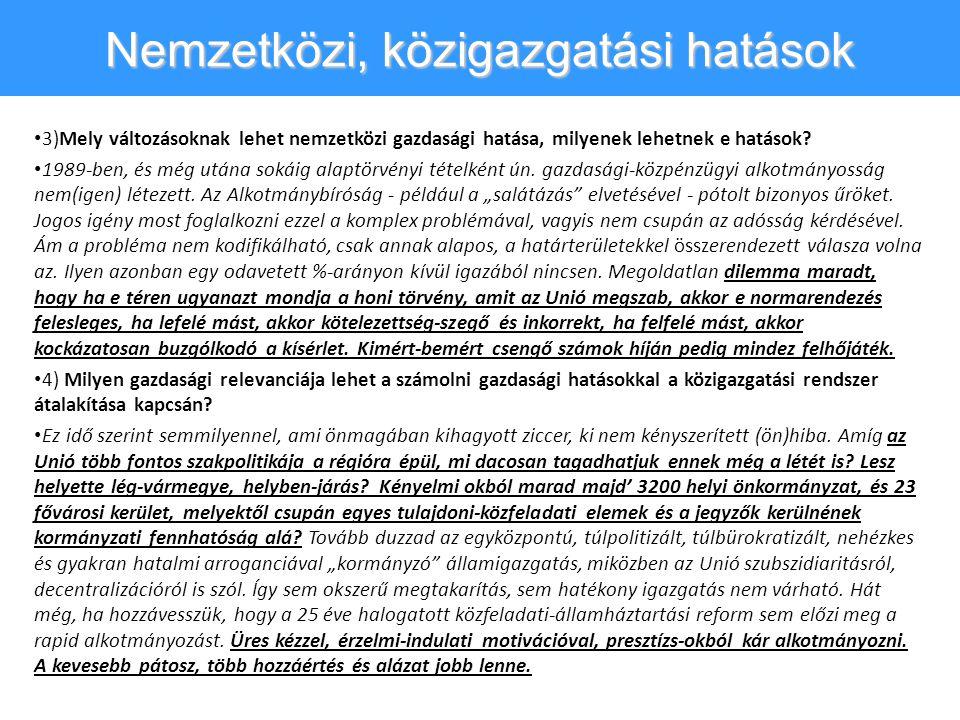 Alibi önkormányzat, közpénz-mizéria • A 31-35.
