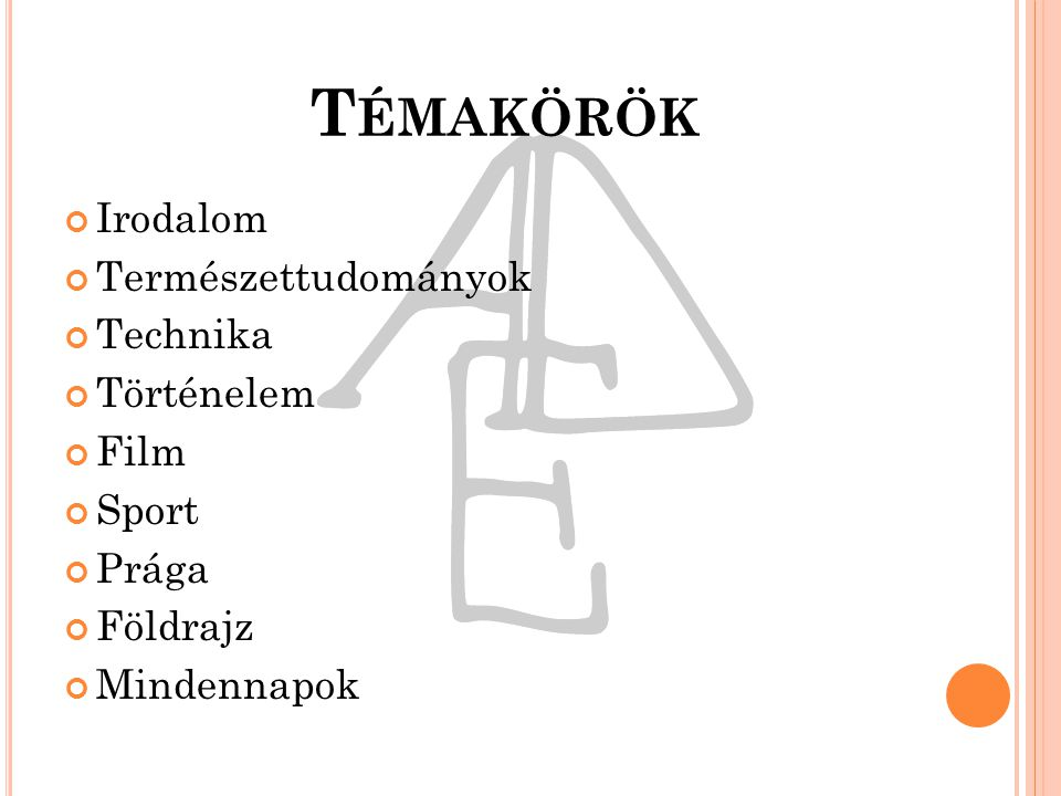AED Műveltségi vetélkedő Kafárna na kus řeči 2013. november 15.