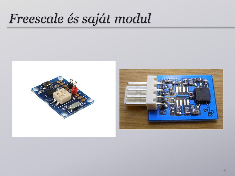 Freescale és saját modul 28