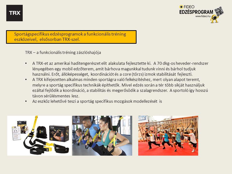 Progresszióra épülő teljes program • Az oktató DVD filmekkel szemben a Fideo Edzésprogram nem egy egyszeri edzésprogramot nyújt, hanem egy progresszióra épülő több hetes, ismételhető edzéstervet.