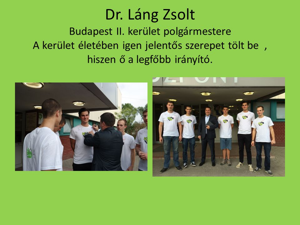 Dr.Láng Zsolt Budapest II.