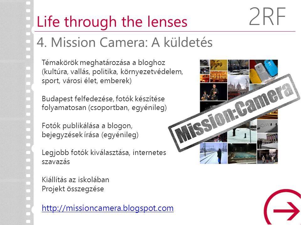 Értékelés Life through the lenses 2RF