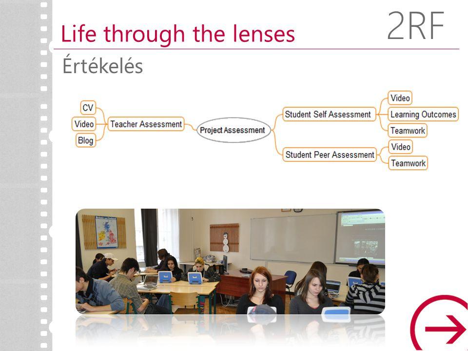 Összegzés Life through the lenses 2RF Együttműködés Tudásépítés Valós probléma megoldása és innováció Önszabályozás IKT használat a tanulásért