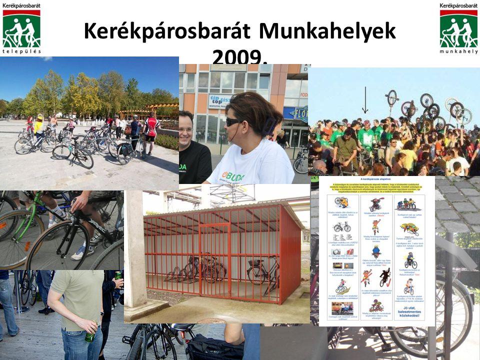 Kerékpárosbarát Munkahelyek 2009.