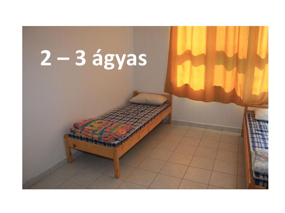 2 – 3 ágyas