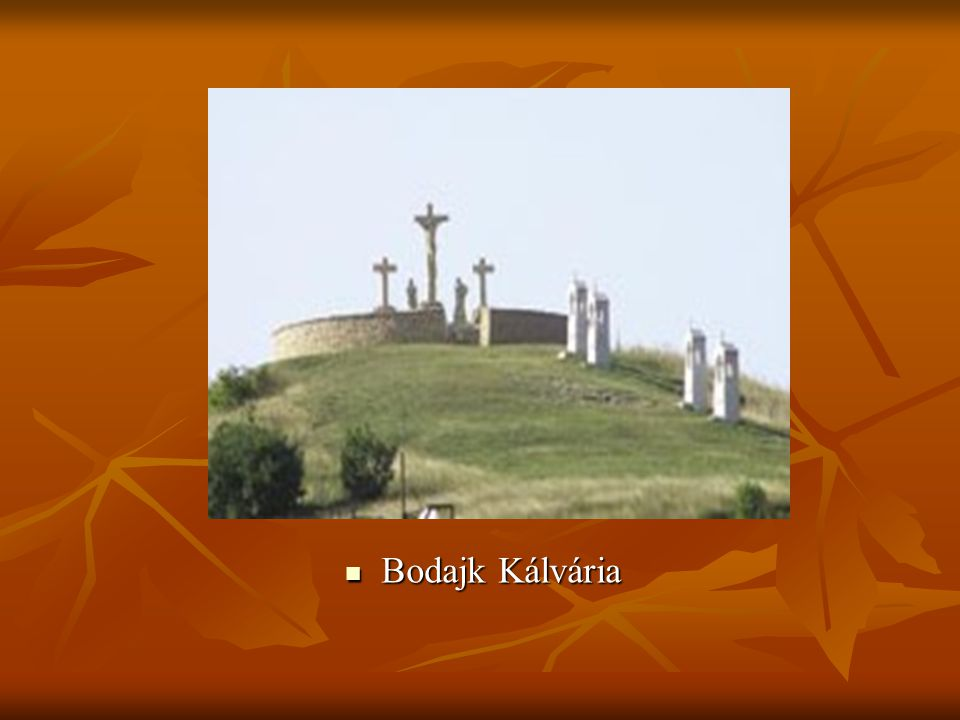  Bodajk Kálvária