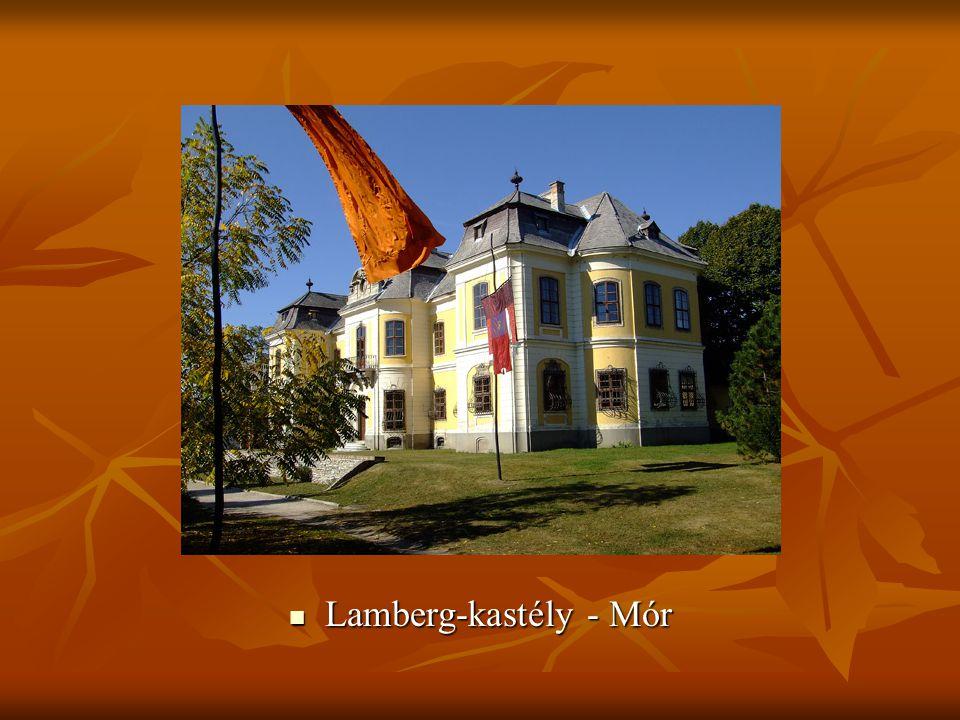  Lamberg-kastély - Mór