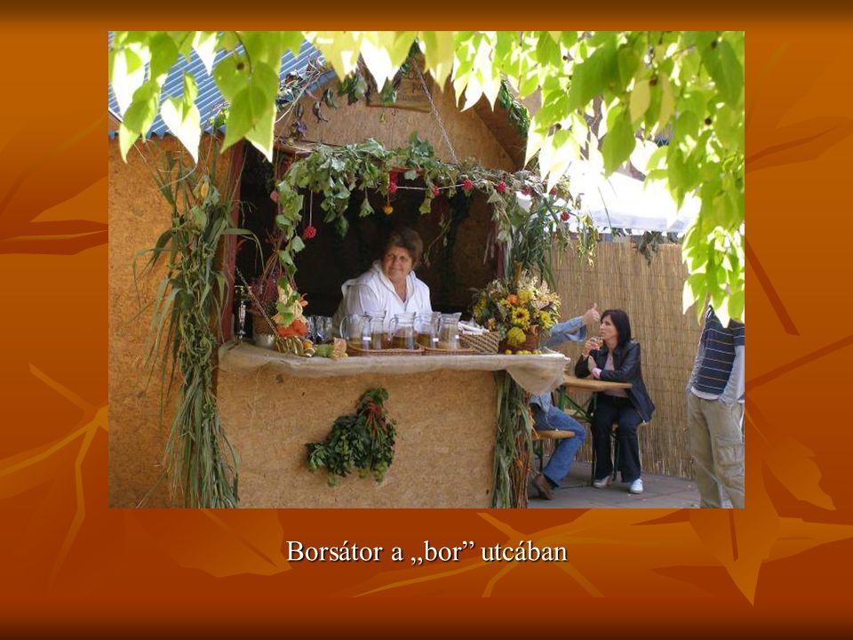 """Borsátor a """"bor utcában"""