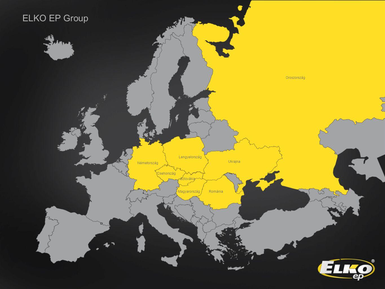 ELKO EP Group Oroszország Lengyelország Szlovákia Magyarország Ukrajna Csehország Románia Németország