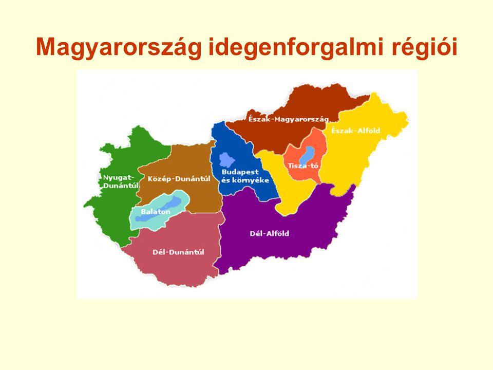 Magyarország idegenforgalmi régiói