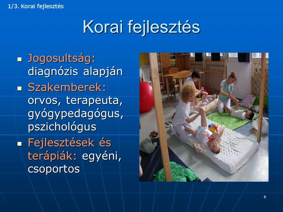 37 Kommunikációs akadálymentesítés  Hallássérültek: jelnyelv használata  Jelnyelvi tolmácsközpontok: országos hálózat  A jelnyelv oktatása: különböző szintű képzésekben  Jelnyelvi képzések fejlesztése: felsőoktatási intézményekben, az alap- és mesterdiplomás képzésekben  Fordító- és tolmácsképzés: különböző szakemberek számára  Bilingvális oktatásra felkészülő tanárok képzése 6/3.