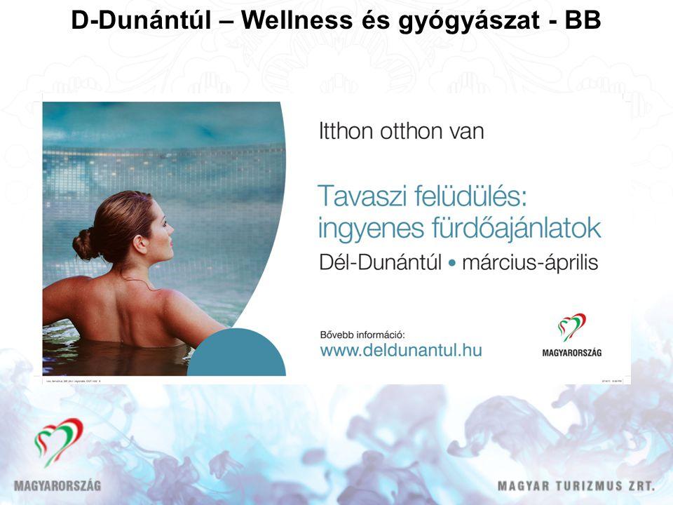 D-Dunántúl – Wellness és gyógyászat - BB