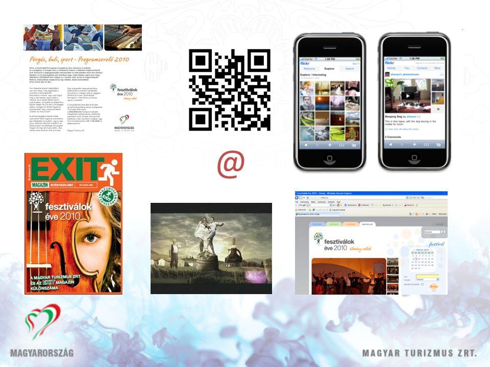 Külpiaci stratégiánk • Külföldi stratégiai kommunikációnk: márkakommunikáció • Taktikai kommunikáció: adott országban mely turisztikai terméktől remélhetjük a legnagyobb bevételt - csatlakozási lehetőség turisztikai szolgáltatók részére konkrét ajánlatokkal • Küldő piacaink felosztása forrásaink koncentrálása érdekében