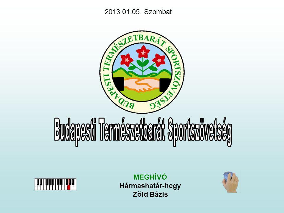 MEGHÍVÓ Hármashatár-hegy Zöld Bázis 2013.01.05. Szombat