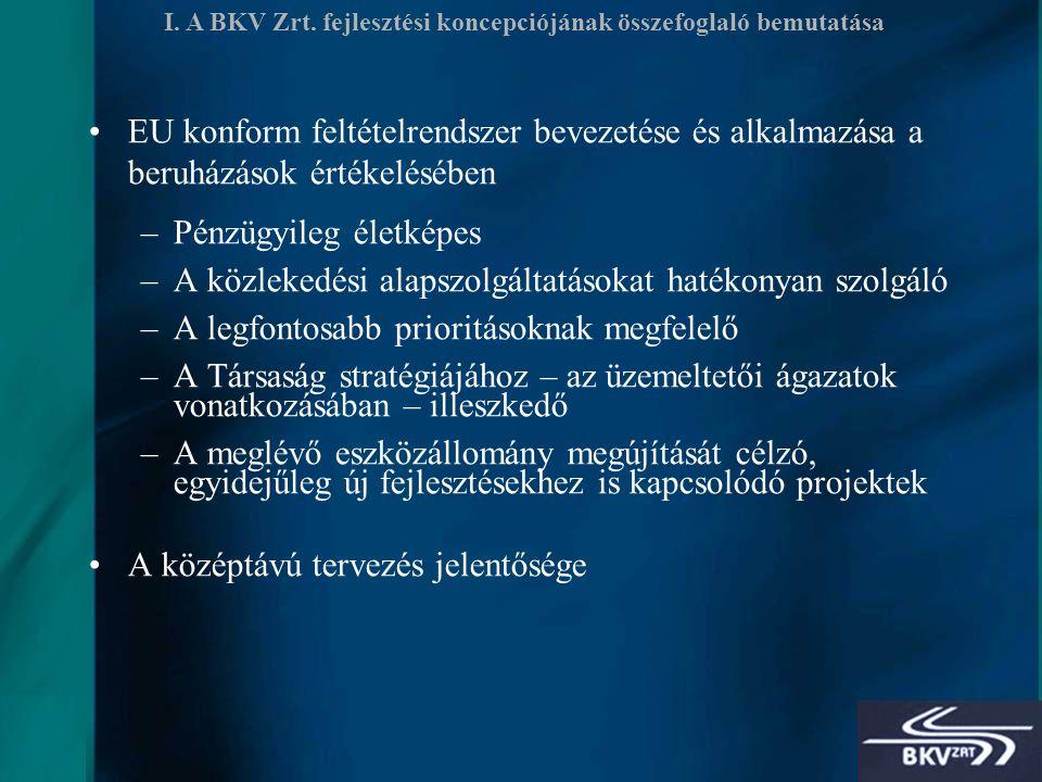 8 I. A BKV Zrt.