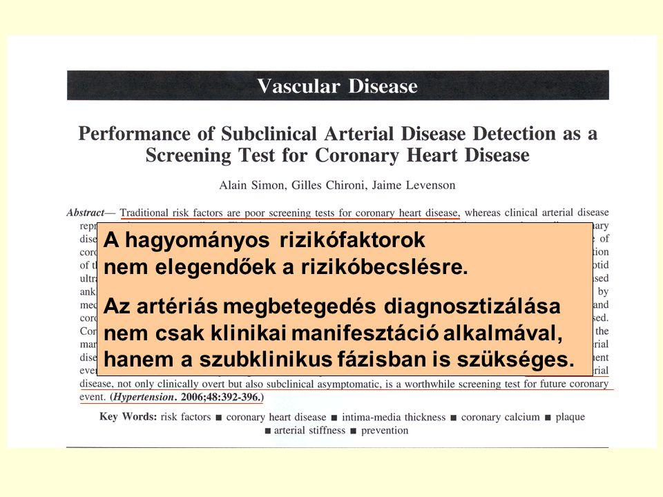 Esettanulmányok Betegkövetés Arteriográffal