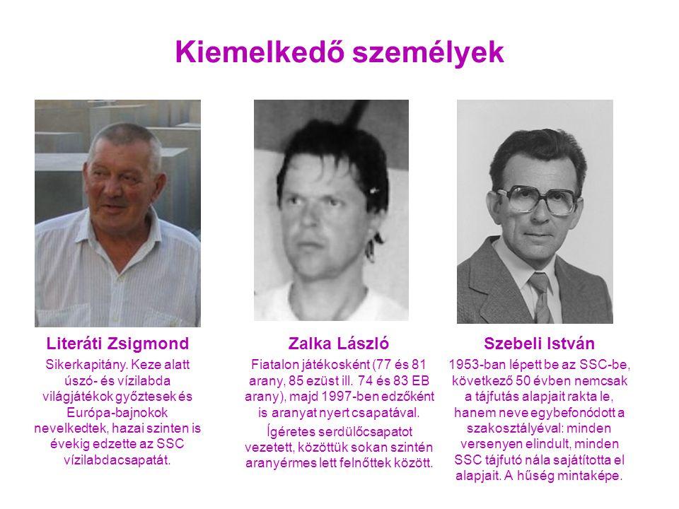 Szebeli István 1953-ban lépett be az SSC-be, következő 50 évben nemcsak a tájfutás alapjait rakta le, hanem neve egybefonódott a szakosztályéval: minden versenyen elindult, minden SSC tájfutó nála sajátította el alapjait.