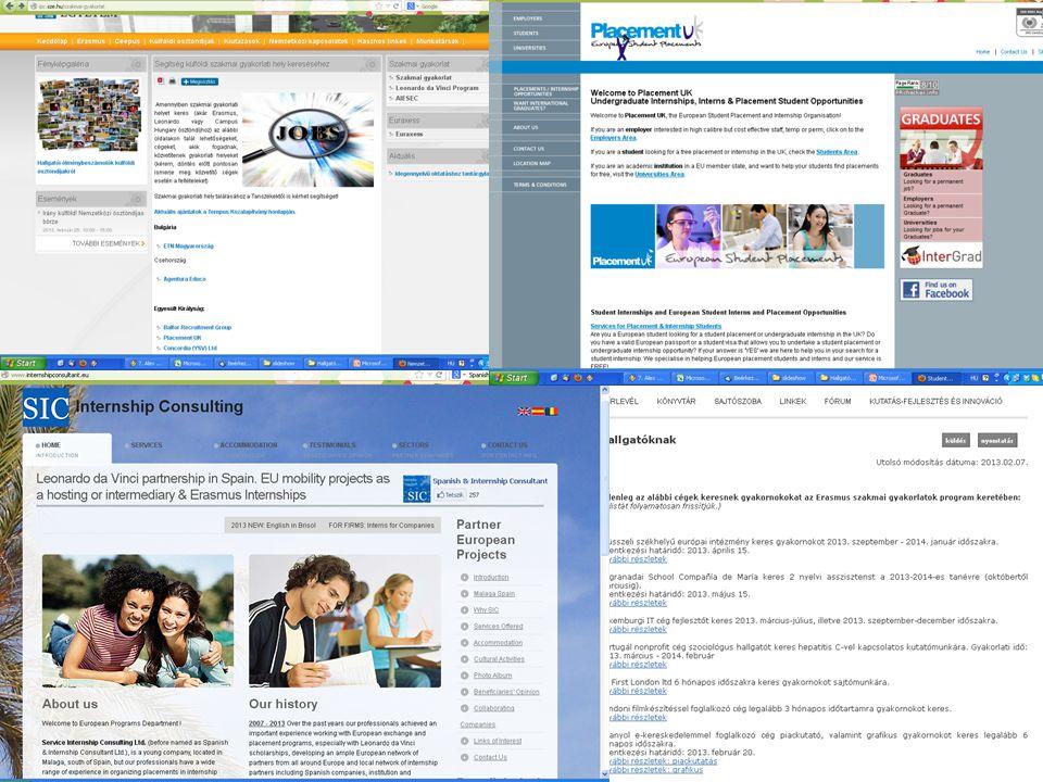 on-line pályázat 2009.03.01-ig http://apply.sze.hu